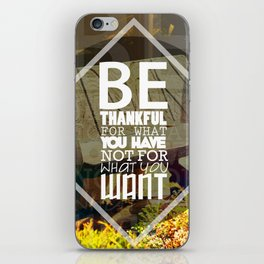 Be.. iPhone Skin