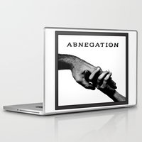 divergent Laptop & iPad Skins featuring ABNEGATION - DIVERGENT (draw by me) by MarcoMellark