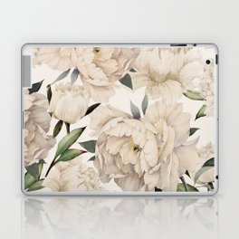 Peonies Pattern Laptop & iPad Skin