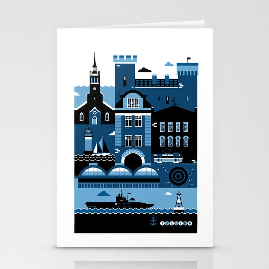 Tallinn Stationery Cards