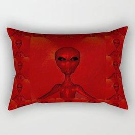 Aliens by Raphael Terra Rectangular Pillow