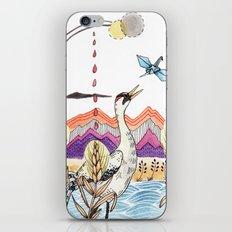 Crane Gang iPhone & iPod Skin