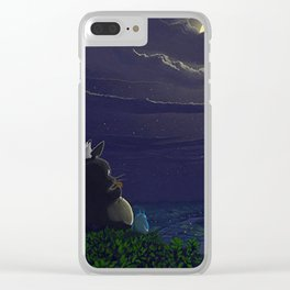 Studio ghibli and Drawings Clear iPhone Case
