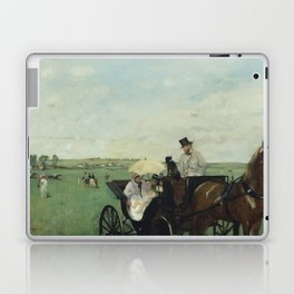 At the Races in the Countryside Laptop & iPad Skin