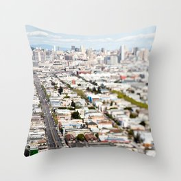San Francisco Throw Pillow