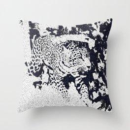 The Jaguar Throw Pillow
