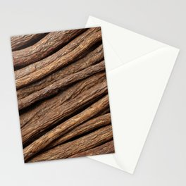 Licorice root in diagonal lines Stationery Cards