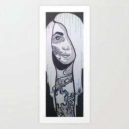 Adaption Art Print