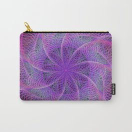 Pink spiral magic Carry-All Pouch