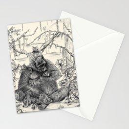 Koko Love Graphite Drawing Stationery Cards