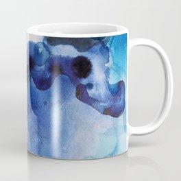 Indigo watercolor Coffee Mug