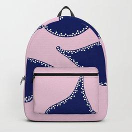 Indigo Petals Backpack