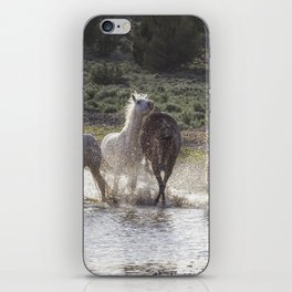Splashing About At The Waterhole iPhone Skin
