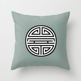 Shou (壽) / Longevity Throw Pillow