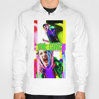 tank girl Hoodies featuring Tank Girl Lucy by sorshag