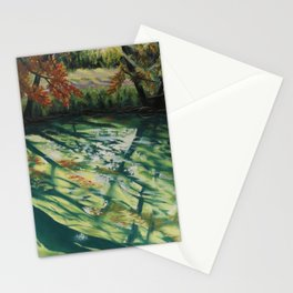 Le lac de jade Stationery Cards