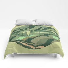 TOPOGRAPHY 005 Comforters