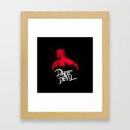 Bloody Devil  Poster Framed Art Print