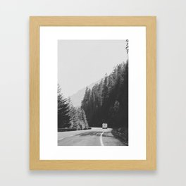 ROAD TRIP / Canada Framed Art Print