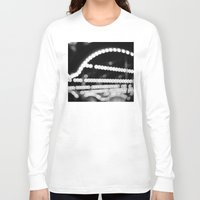 carousel Long Sleeve T-shirts featuring carousel by studiomarshallarts