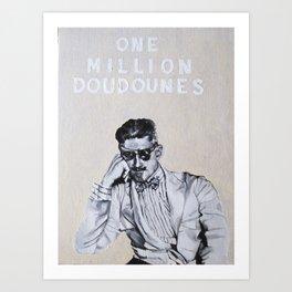 Doudounes Art Print