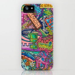 Hello - Greetings in many languages iPhone Case
