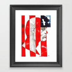Oh, Captain. My Captain. Framed Art Print