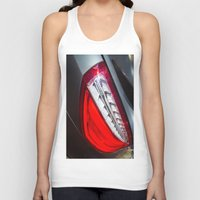 mercedes Tank Tops featuring Mercedes-Benz SL 63 AMG Bi-Turbo Back Light by Mauricio Santana