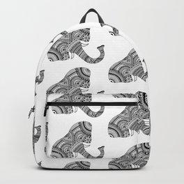 Zentangle Elephant Backpack