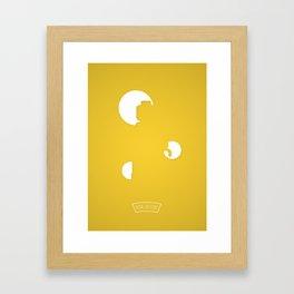 L..O Framed Art Print