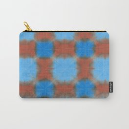Shibori (blue and brown) Carry-All Pouch