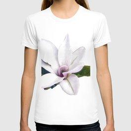 White star Magnolia, Watercolor art T-shirt