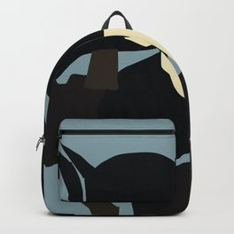 Abstract Braque Inspired Backpack