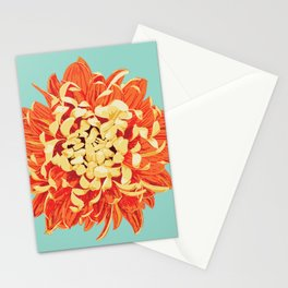 Chrysanthemum (Part of a Triptych) Stationery Cards