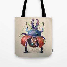 Beetle stunt Tote Bag