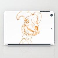 animal skull iPad Cases featuring Skull by Chloe Howard