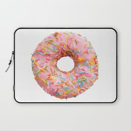 Single pink donut Laptop Sleeve
