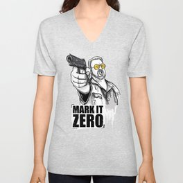 Mark it zero, the big lebowski Unisex V-Neck