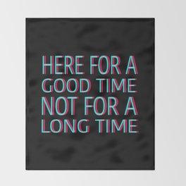 GOOD TIME Throw Blanket