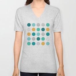 Dots 1 Unisex V-Neck