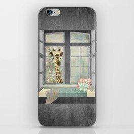 Bay Window Giraffe iPhone Skin