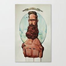 The Bouquet Man Canvas Print