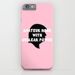 AM-A-T-EUUU-R! iPhone Case