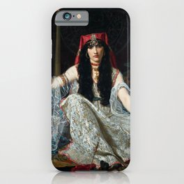 THE SORCERESS - GEORGES MERLE iPhone Case