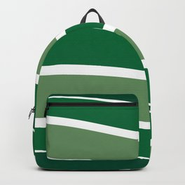 Green Striations  Backpack