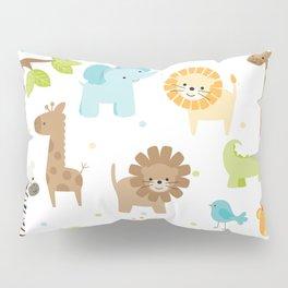 Jungle Animals Pillow Sham