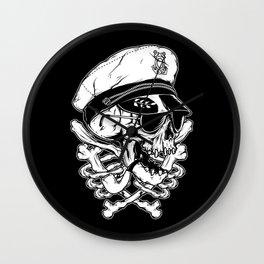 Death Captain Wall Clock
