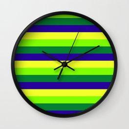 Brazil Summer Wall Clock