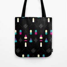 Play on Black Tote Bag