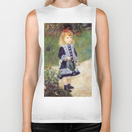 Auguste Renoir A Girl with a Watering Can 1876 Biker Tank